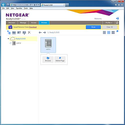 Высокопроизводительный сетевой накопитель Netgear ReadyNAS